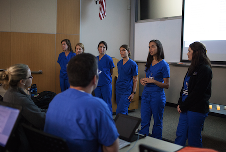 The Physician Assistant Class of 2015 recently held a ceremony to honor those who selflessly gave themselves to medical education and future patients